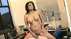Riding that big dick allows the sexy milf to reach the pleasure she's looking for