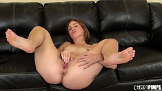 Jodi Taylor is naked and ready to put on a hot solo show for you