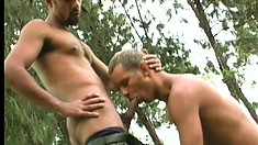 Sexy army recruits get their thick asses fucked by their CO's