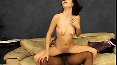 Antonette is eager for something new in her stale sex life and his BBC is just the thing