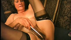 Mature ladies are never too old to get their nasty cunts pleased